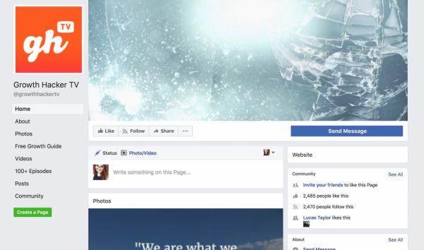 Social Media Page Creation